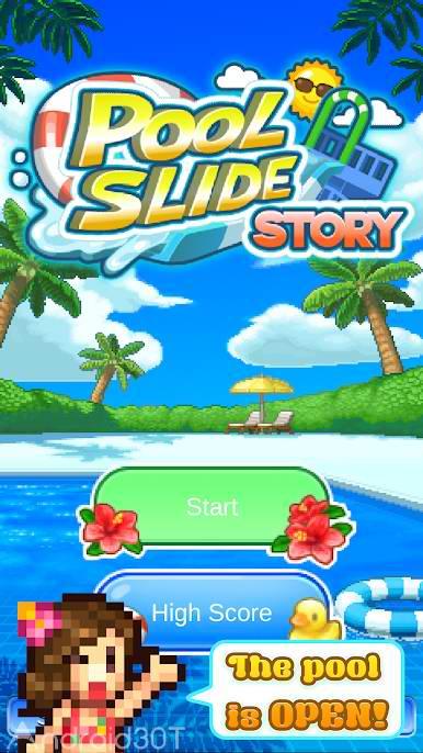 دانلود Pool Slide Story 1.0.9 – بازی جذاب داستان استخر اندروید