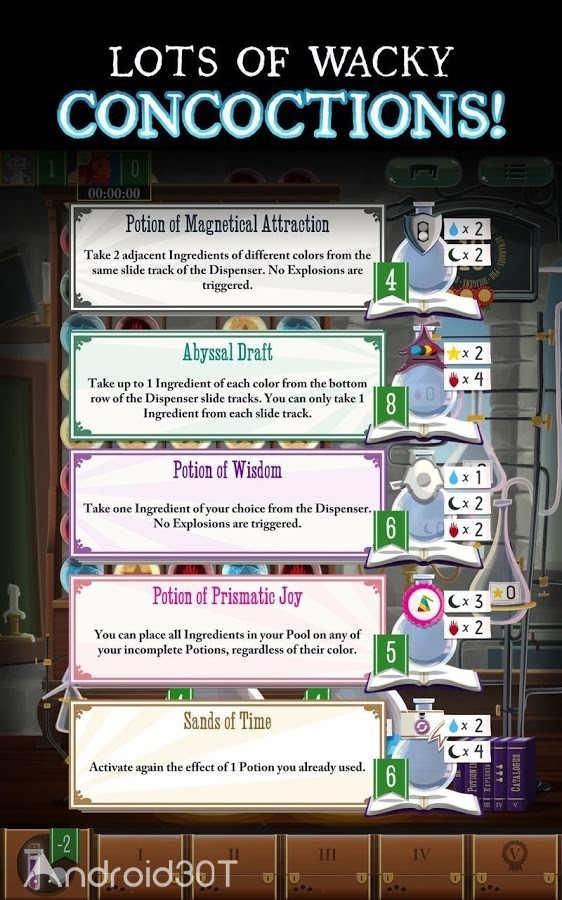 دانلود Potion Explosion 2.0.2 – بازی پازلی انفجار معجون اندروید