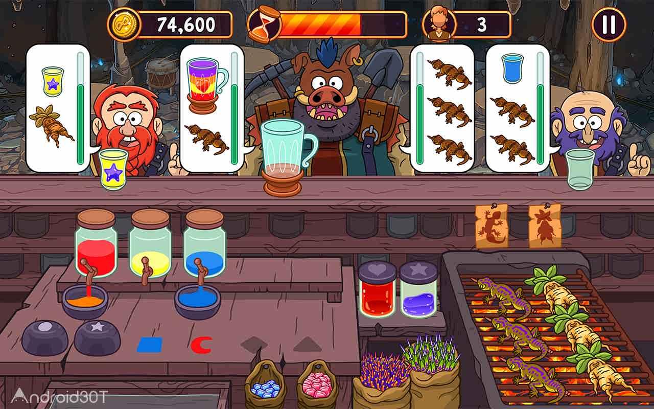 دانلود Potion Punch 6.4 – بازی متفاوت مغازه معجون فروشی اندروید