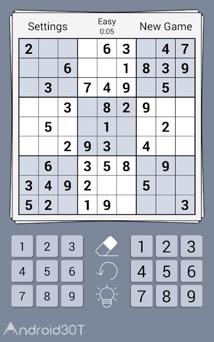 دانلود Premium Sudoku Cards 1.0 – بازی جذاب سودوکو برای اندروید