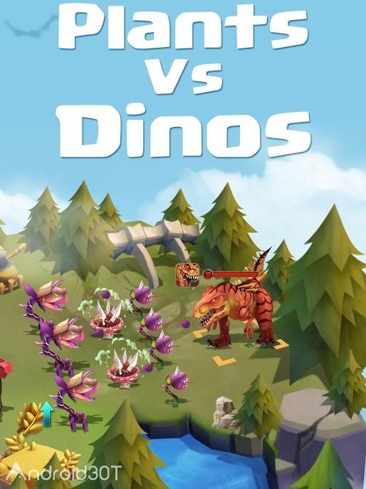 دانلود Primal Wars Dino Age 0.191.22 – بازی استراتژیکی دوران اولیه برای اندروید