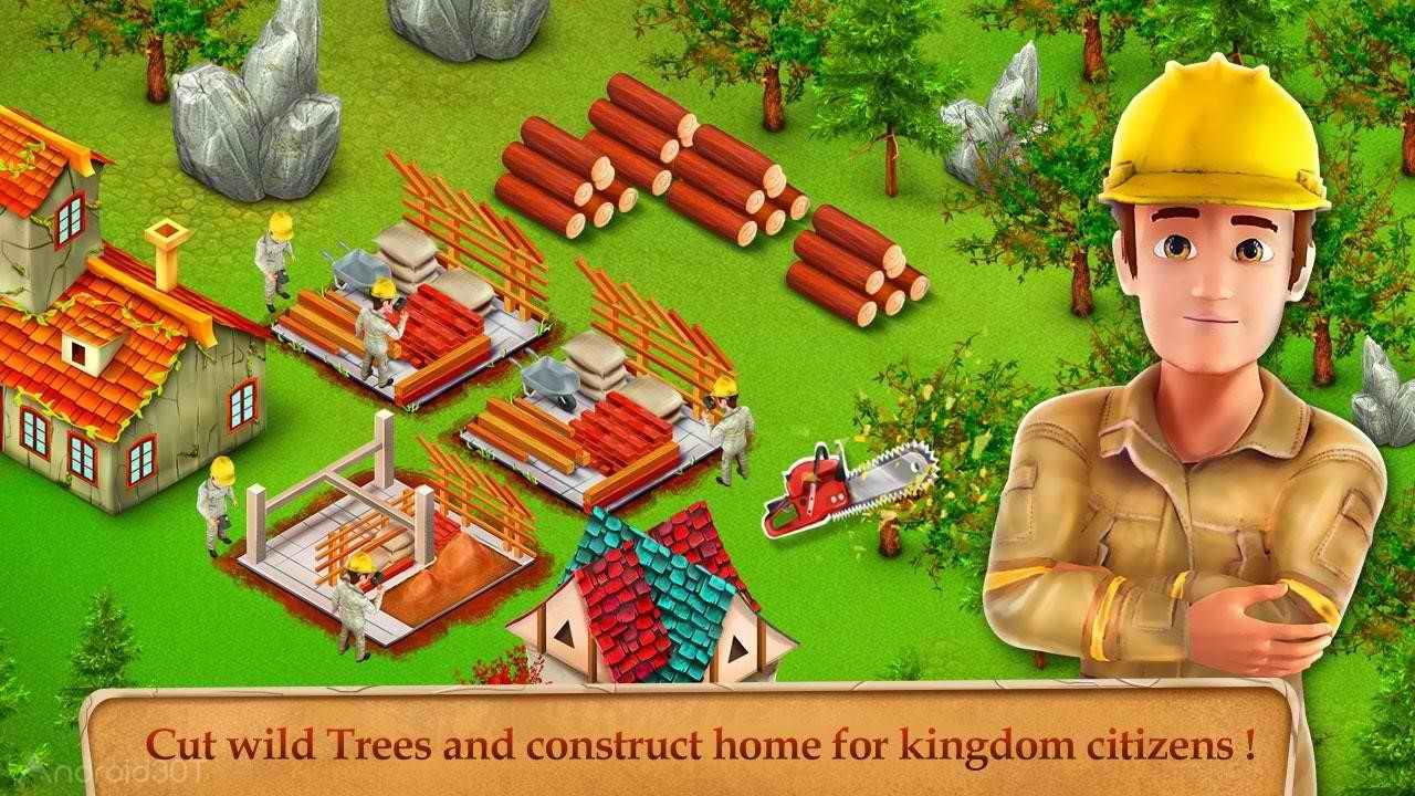 دانلود Princess Kingdom City Builder 1.5 – بازی شهرسازی امپراطوری پرنسس اندروید