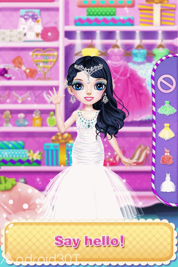 دانلود Princess Makeup Salon 1.7 – بازی دخترانه پرنسس اندروید