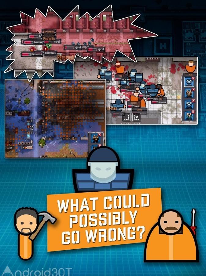 دانلود Prison Architect: Mobile 2.0.9 – بازی شبیه ساز طراح زندان اندروید