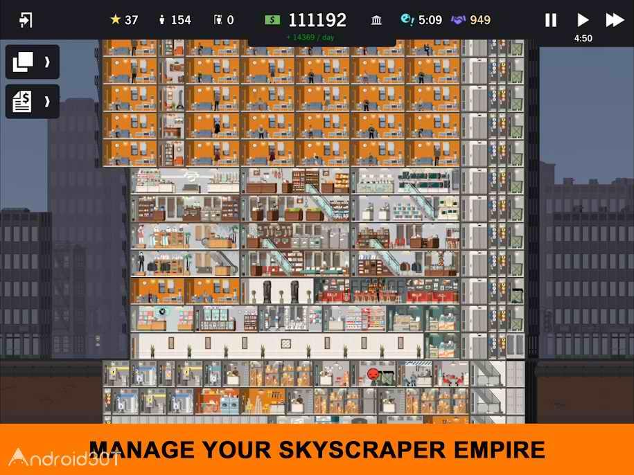 دانلود Project Highrise 1.0.5 – بازی برج سازی برای اندروید