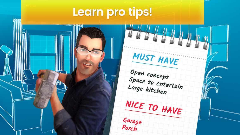 دانلود Property Brothers Home Design 1.8.8g – بازی پازلی برادران طراح خانه اندروید