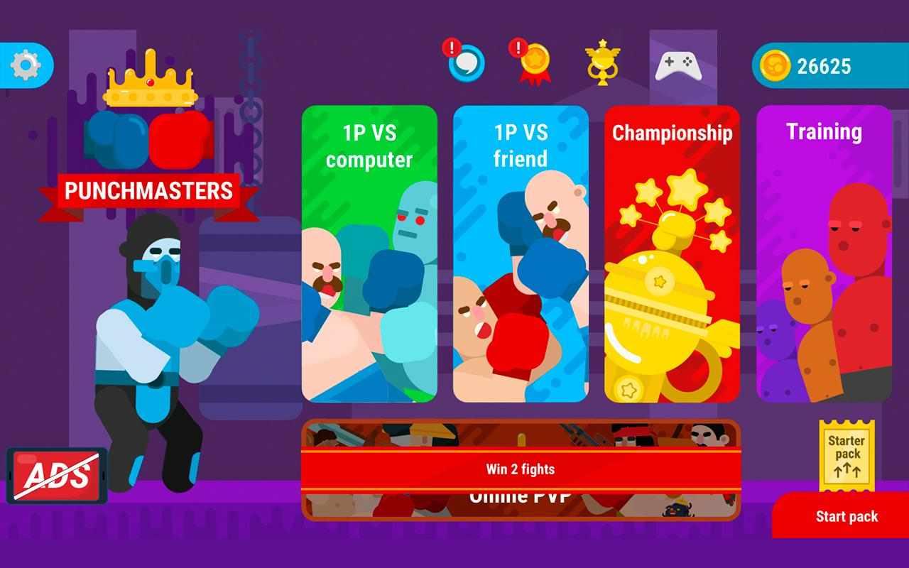 دانلود Punchmasters 1.24 – بازی اکشن برای اندروید