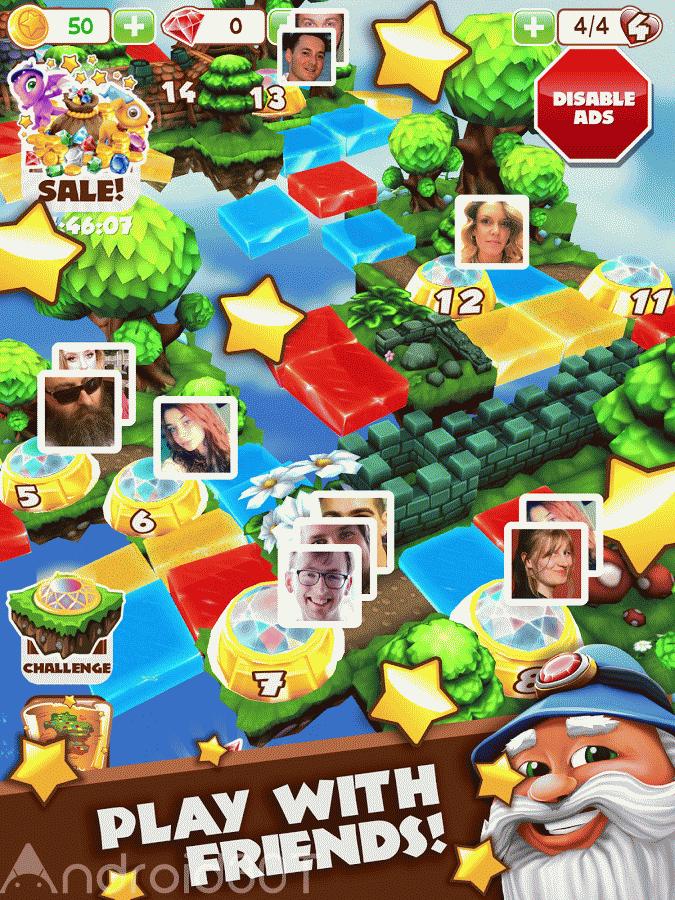 Puzzle Wiz 1.09 – بازی ماجراجویی پازل ویز اندروید + مود