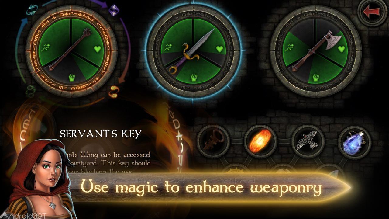 دانلود Tainted Keep 1.8 – بازی اکشن زن جنگجو اندروید