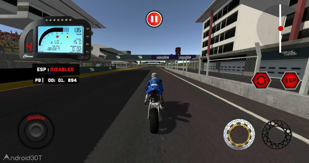 دانلود motoRRPS 1.0 – بازی موتورسواری بدون دیتای اندروید