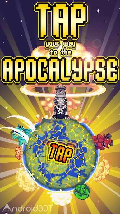 دانلود Idle Apocalypse 1.70 – بازی شبیه سازی بدون دیتای اندروید