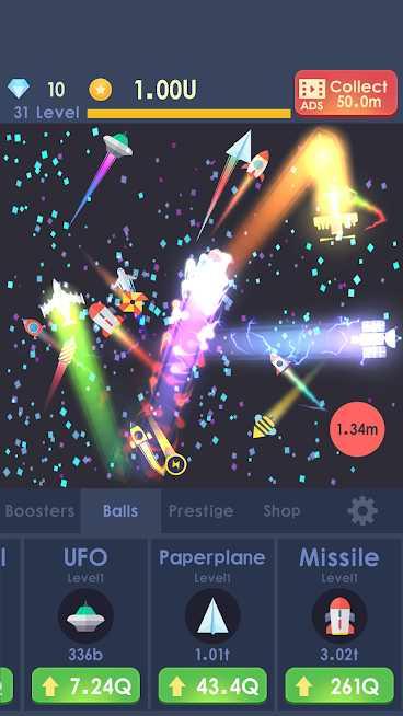 دانلود Idle Rocket 1.1.10 – بازی سرگرم کننده تکامل موشک اندروید