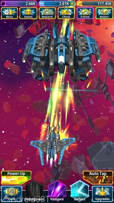 دانلود Idle Space Clicker 1.5.3 – بازی نبردهای فضایی برای اندروید