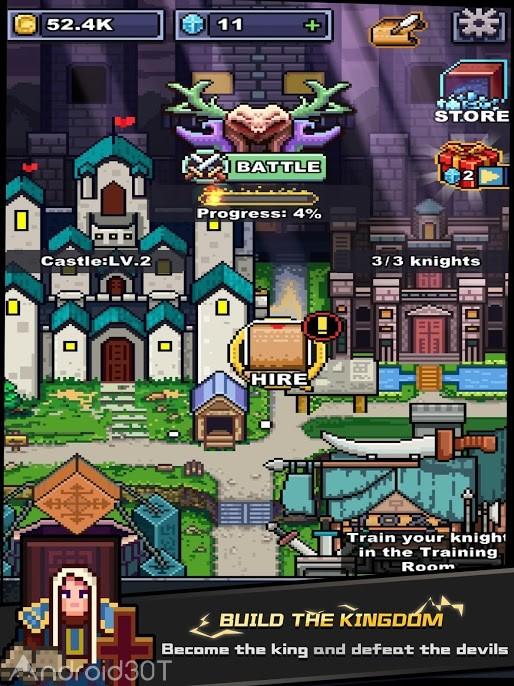 دانلود Infinite Knights 1.0.0 – بازی سرگرم کننده اندروید