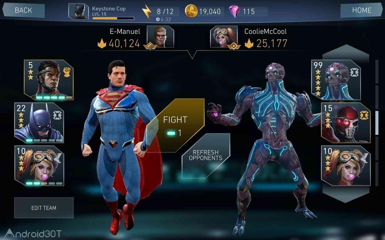 دانلود Injustice 2 v3.5.0 – بازی مبارزه ای و اکشن بی عدالتی ۲ اندروید