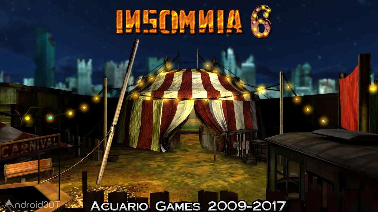 دانلود Insomnia 6 v6 – بازی ترسناک بیخوابی نسخه 6 اندروید