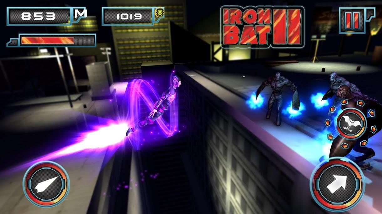 دانلود Iron Bat 2 v2.4 – بازی اکشن آیرون بت 2 برای اندروید