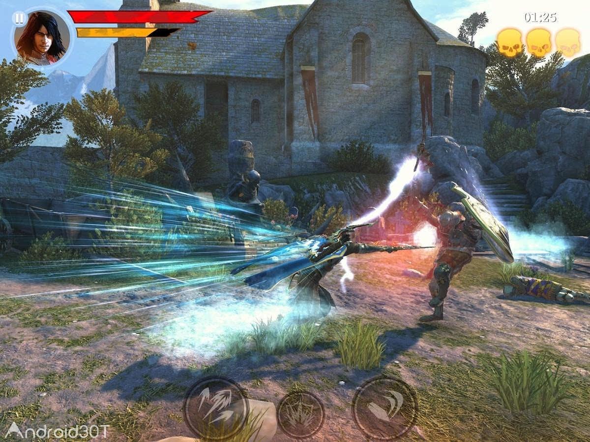 دانلود Iron Blade – Medieval Legends 2.3.0h – بازی اکشن شمشیر آهنین اندروید