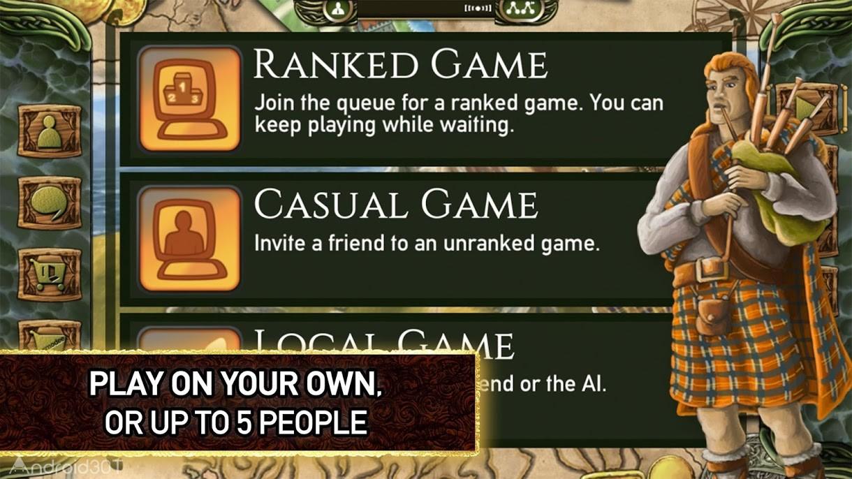 دانلود Isle of Skye: The Tactical Board Game v13 – بازی جزیره اسکای اندروید