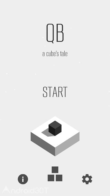 دانلود QB – a cube's tale v1.3.2 – بازی فکری مکعب اندروید
