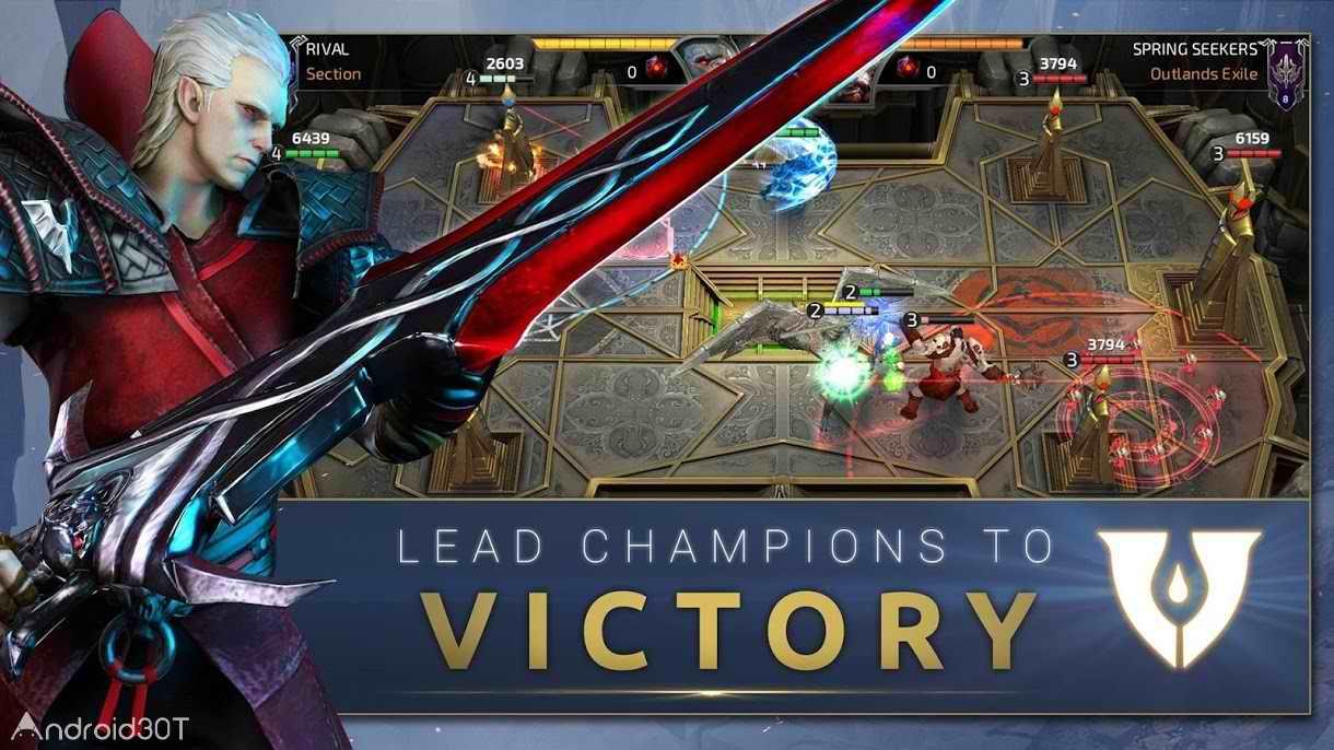 دانلود RIVAL Crimson x Chaos 1.2.0 – بازی استراتژیکی نبرد رقبا اندروید