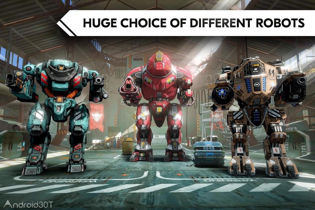 دانلود ROBOT WARFARE ONLINE 0.2.2310.1 – بازی اکشن نبردهای رباتیکی اندروید
