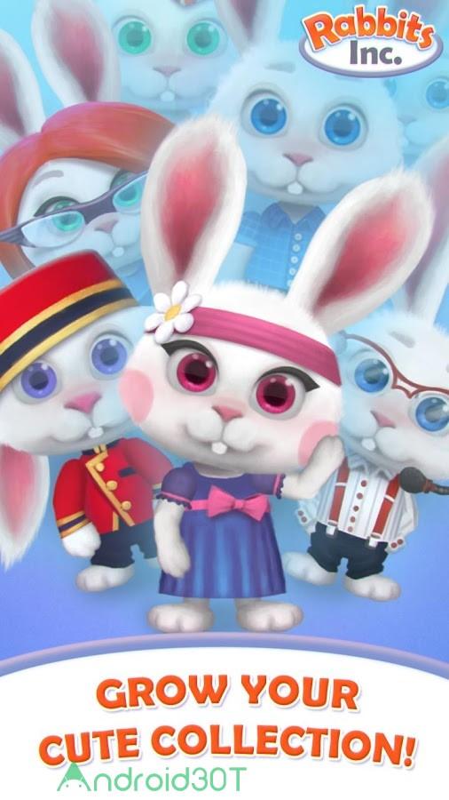 دانلود 1.08 Rabbits Inc – بازی شبیه ساز شرکت تجاری خرگوش اندروید