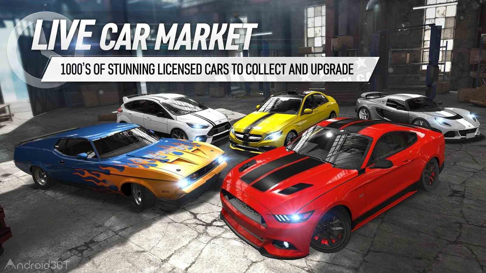 دانلود Race Kings 1.51.2847 – بازی جدید اتومبیل رانی برای اندروید