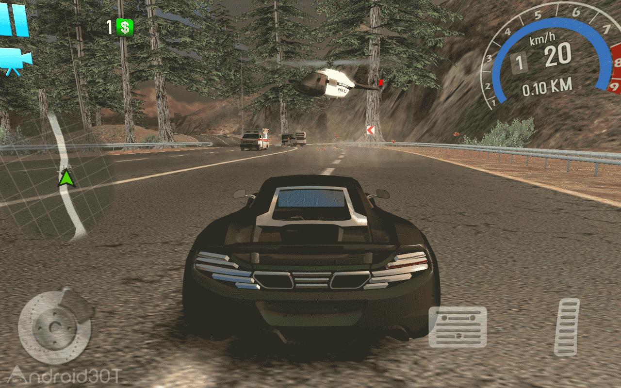 Racer Underground 1.30 – بازی ماشینی برای اندروید