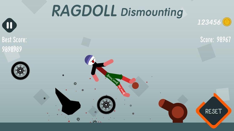 دانلود Ragdoll Dismounting 1.56 – بازی شبیه سازی سقوط آدمک اندروید