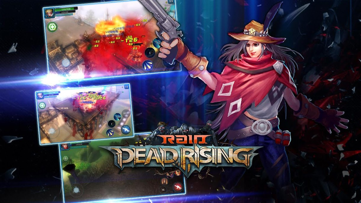 دانلود 1.2.0 Raid:Dead Rising – بازی اکشن برای اندروید