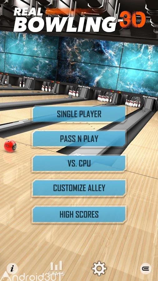 دانلود Real Bowling 3D 1.7 – بازی جدید بولینگ 3 بعدی اندروید