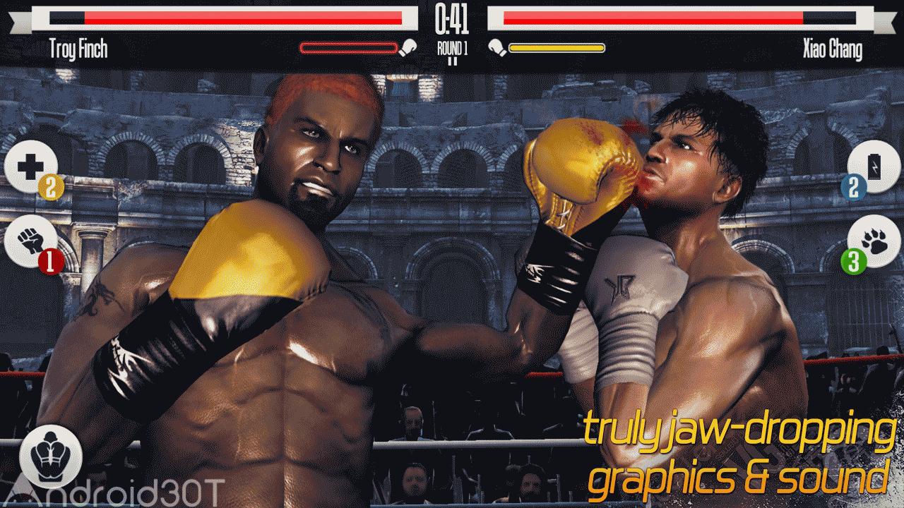دانلود Real Boxing 2.7.6 – بازی بوکس واقعی اندروید