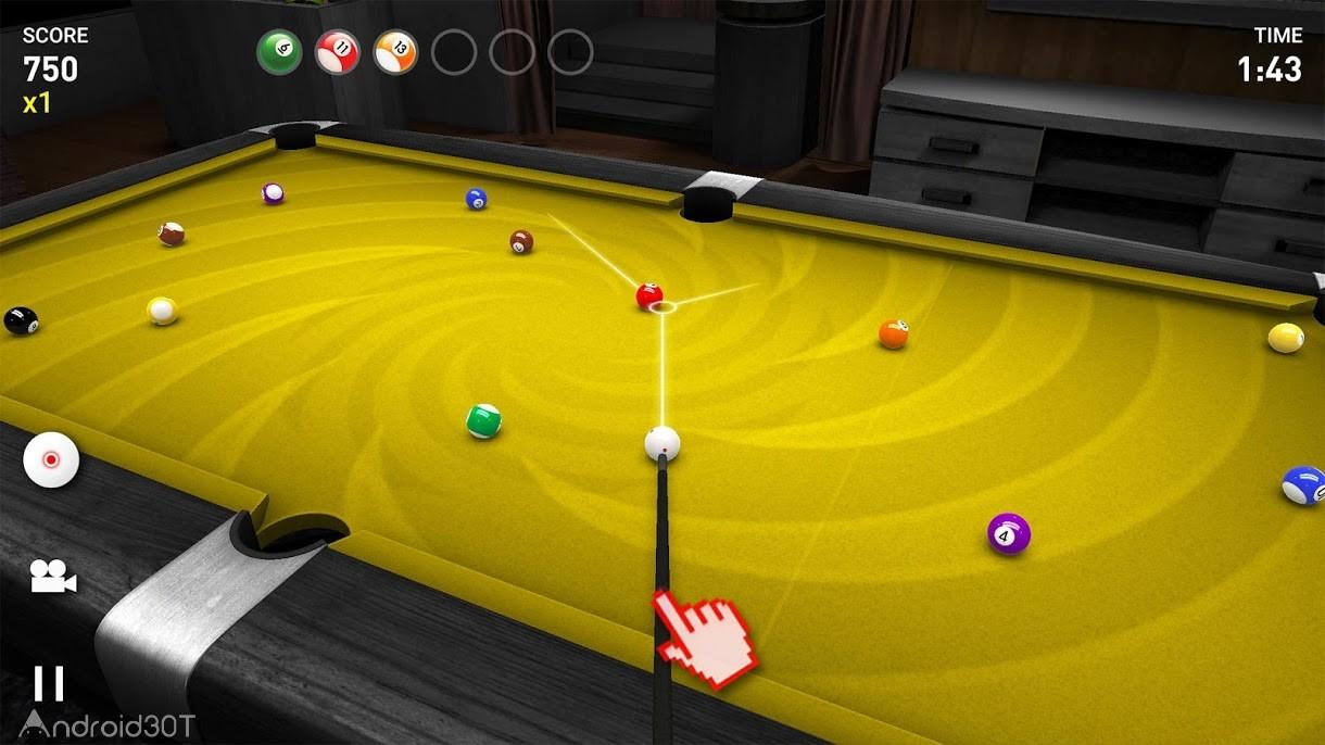 دانلود Real Pool 3D 3.17 – بازی اسنوکر سه بعدی اندروید