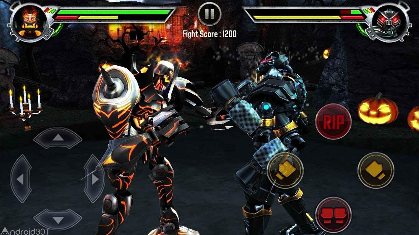 دانلود Real Steel HD 1.84.41 – بازی فوق العاده مبارزه ربات ها اندروید