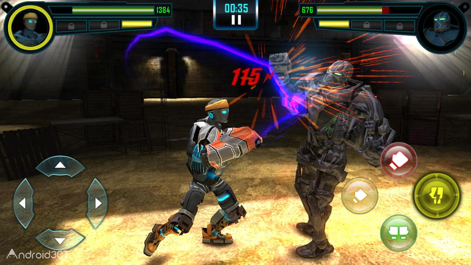 دانلود Real Steel World Robot Boxing 58.58.115 – بازی بوکس ربات ها اندروید