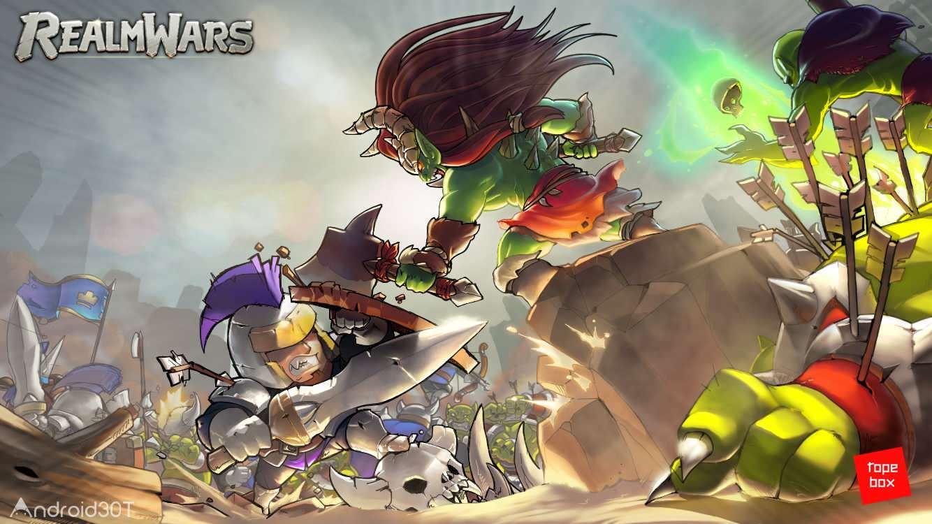 دانلود Realm Wars 0.0.32 – بازی اکشن جنگهای قلمرو اندروید