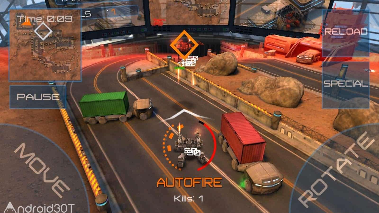 دانلود Reflex Unit 1.0 – بازی اکشن یگان دفاعی اندروید
