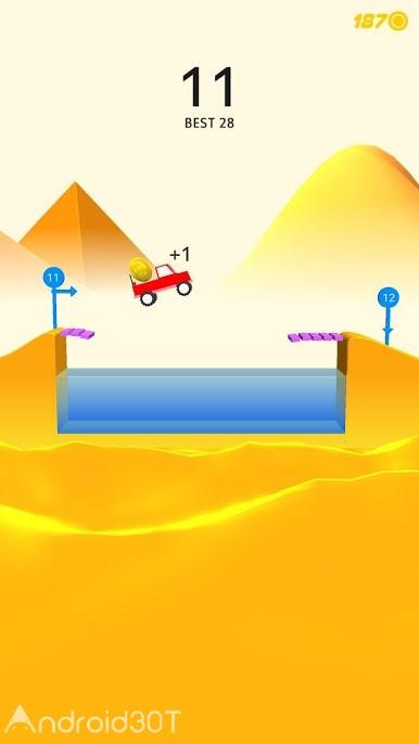 دانلود Risky Road 2.0 – بازی آرکید جاده خطرناک برای اندروید