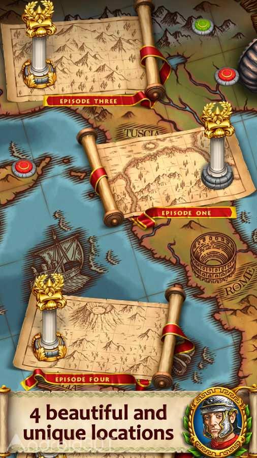 دانلود Roads of Rome: New Generation 1.0 – بازی مسیر روم اندروید
