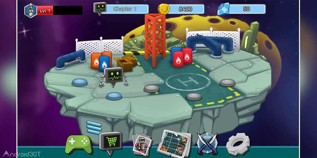 دانلود Robot Evolved : Clash Mobile 1.0.0 – بازی مبارزه روبات اندروید