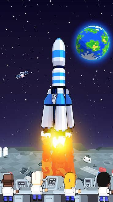 دانلود Rocket Star v1.45.1 – بازی ساخت سفینه فضایی برای اندروید