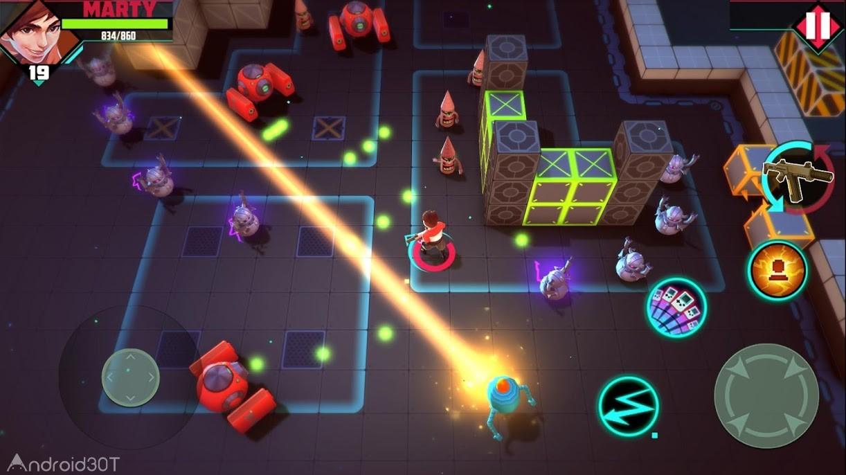 دانلود Rogue Gunner: Pixel Shooting 1.5.3 – بازی اکشن متفاوت برای اندروید