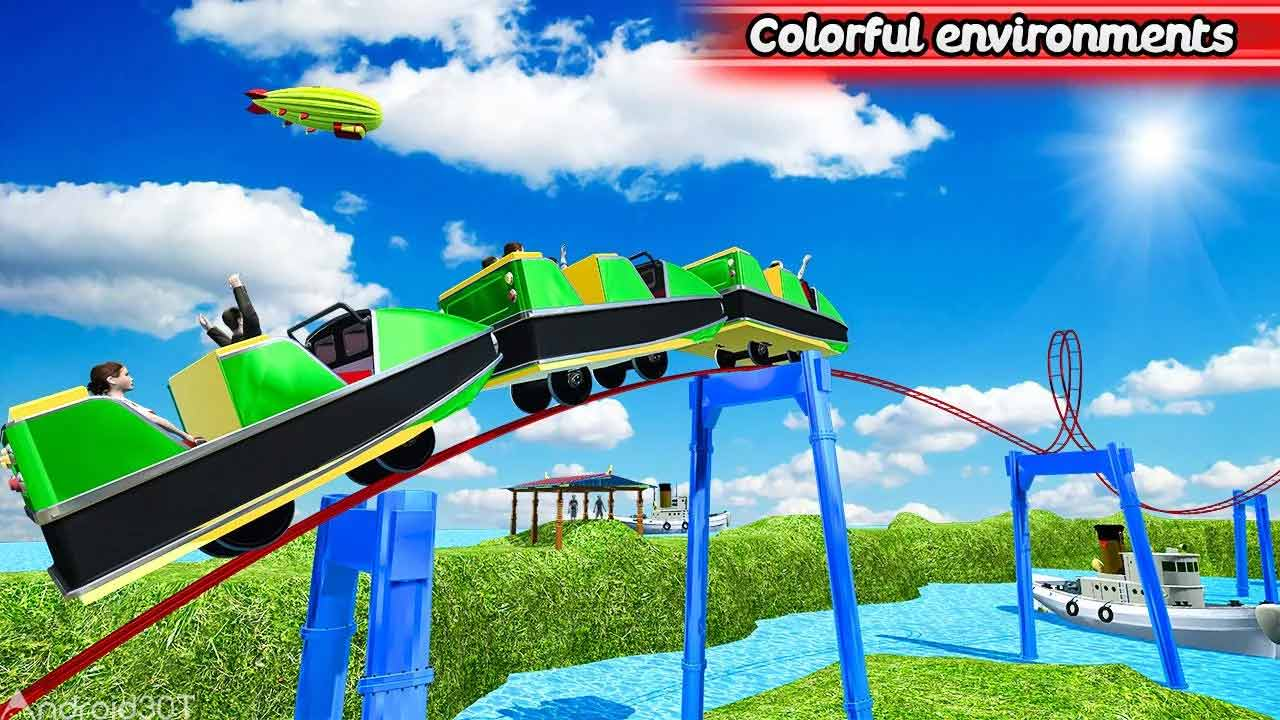 دانلود Roller Coaster 2018 Party 1.0 – بازی جدید ترن هوایی 2018 اندروید