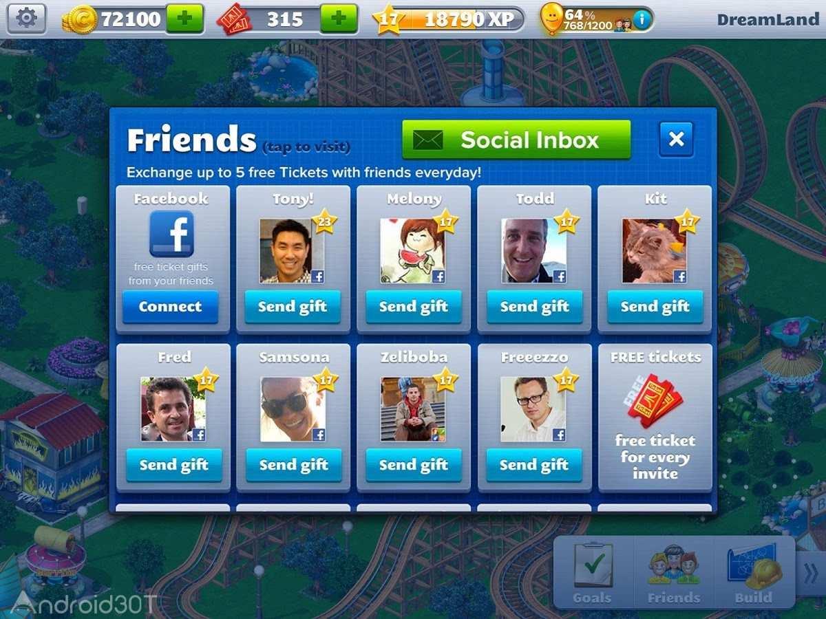 دانلود RollerCoaster Tycoon® 4 Mobile 1.13.5 – بازی شهربازی برای اندروید