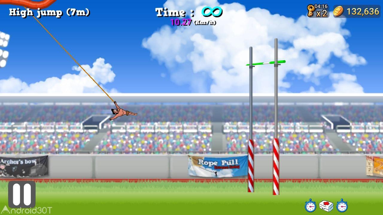 دانلود 2.3.5 Rope Pull : Extreme Swing – بازی بند باز اندروید