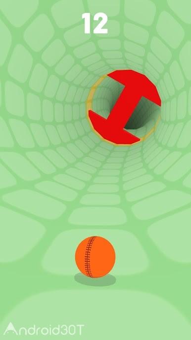 دانلود Rotator 1.0 – بازی سرگرم کننده تونل سرعت برای اندروید