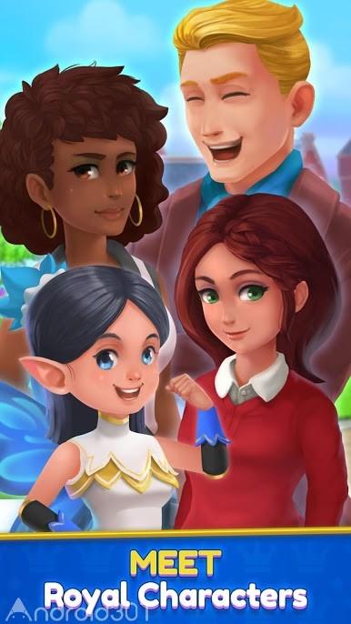 دانلود Royal Garden Tales 0.9.5 – بازی زیباسازی باغ سلطنتی اندروید