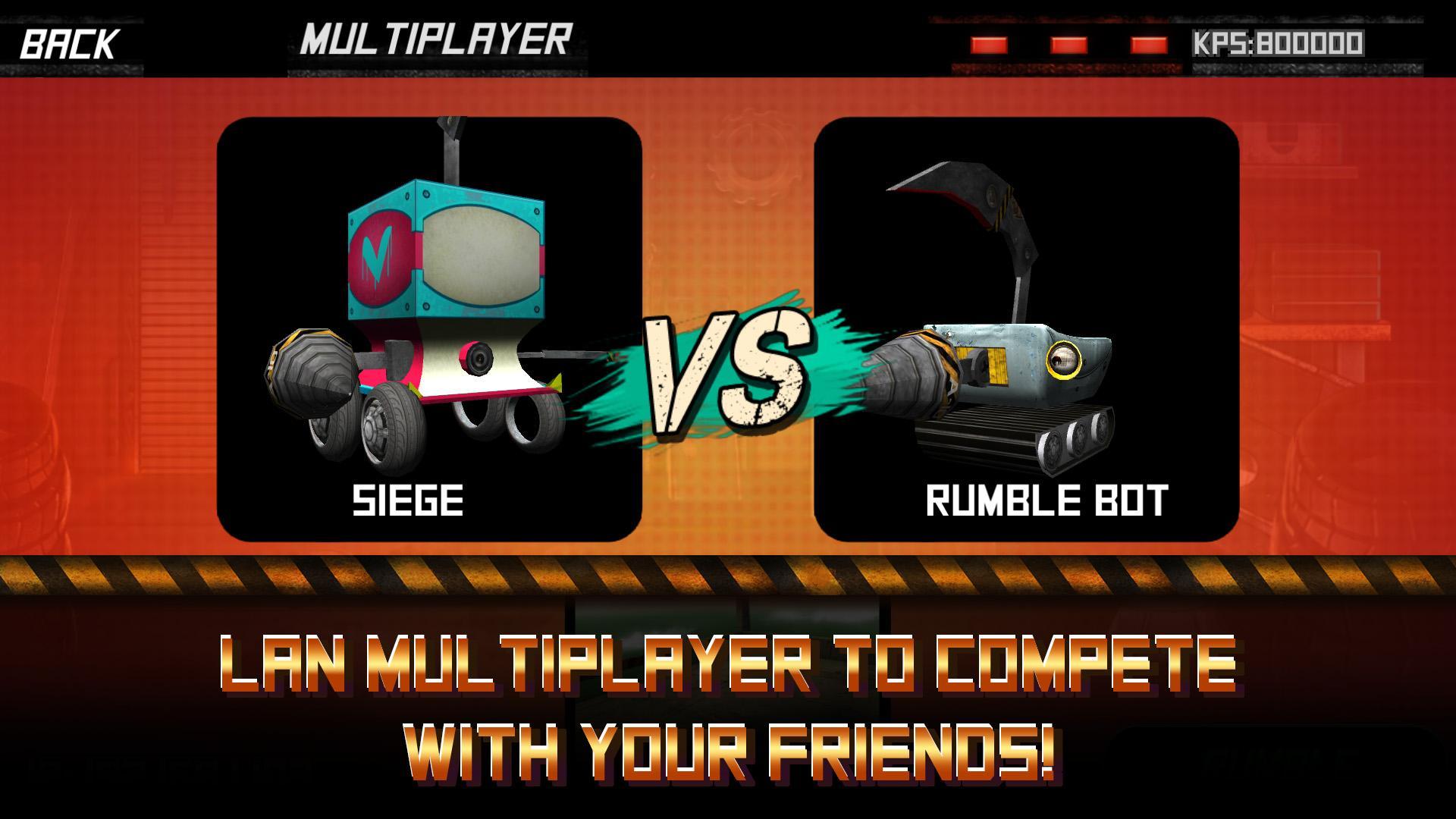دانلود Rumble Bots 1.3.6 – بازی نبرد روبات ها اندروید