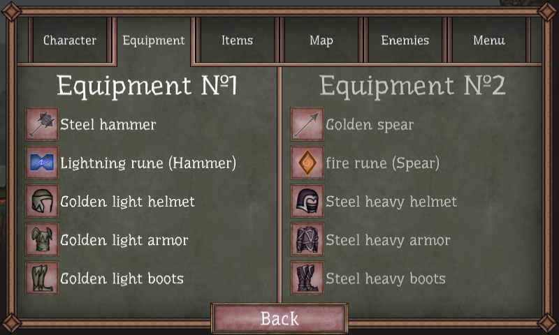 دانلود Runic Curse 1.08 – بازی اکشن نفرین رونی اندروید